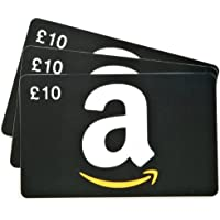 Amazon.co.uk Gift Cards - 3-Pack - FREE One-Day Delivery