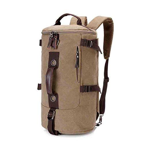 LAIDAYE Multifunktionale Tasche Tragetaschen Outdoor-Taschen Handtaschen Schultertaschen Schultertaschen Reisetaschen Rucksäcke Beige