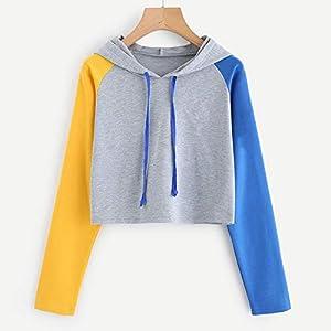 Festiday Long Sleeve Hoodies For Women 2018 Women's Coats, Jackets & Vests Womens Casual Long Sleeve Hoodie Sweatshirt Hooded Pullover Tops Blouse