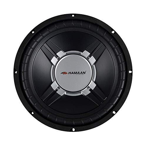"""Hamaan (HMWF-360) 800W 10"""" Dual Voice Coil Subwoofer"""