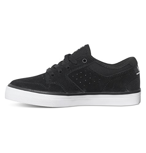 DC Shoes Nyjah Vulc, Baskets mode garçon Noir (Black/White)