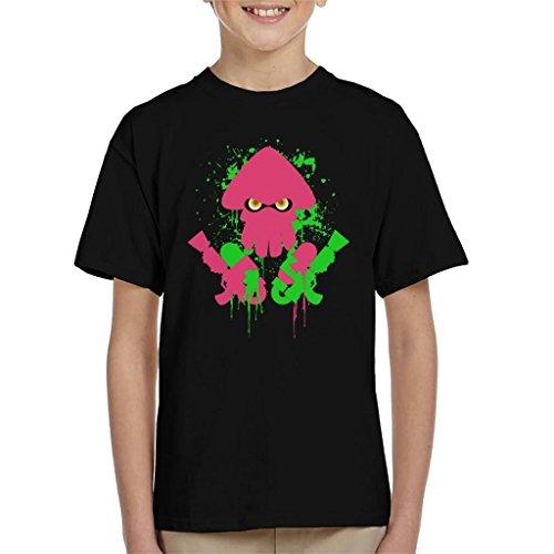 Cloud City 7 Splatoon Inkling Attack Kid's T-Shirt (Cloud Kinder Kostüm)