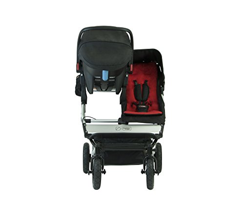 Mountain Buggy Evolution Duet Flint inkl. Regenschutz - 3