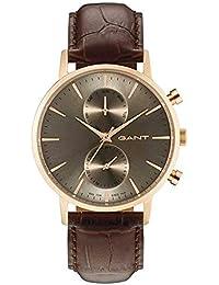 GANT Reloj Multiesfera para Hombre de Cuarzo con Correa en Cuero W11208