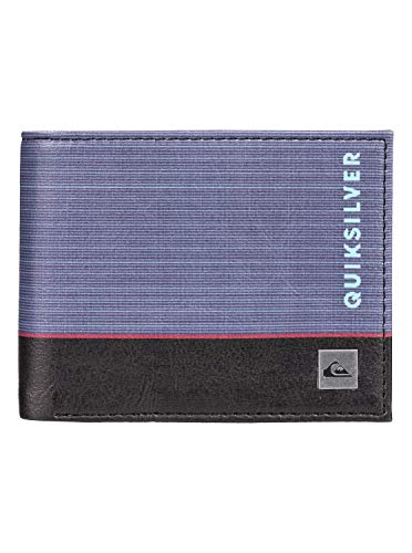 Quiksilver Freshness - Cartera para Hombre, Blue Nights, L