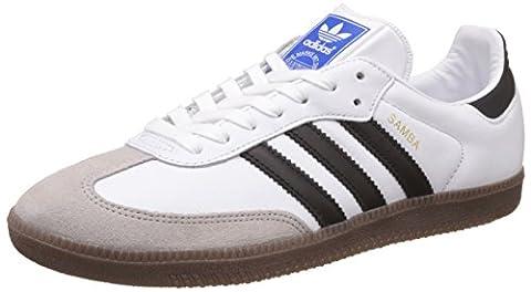 adidas Herren Samba OG Sneakers, Weiß (Ftwr White/Core Black/Gum), 42 2/3 EU