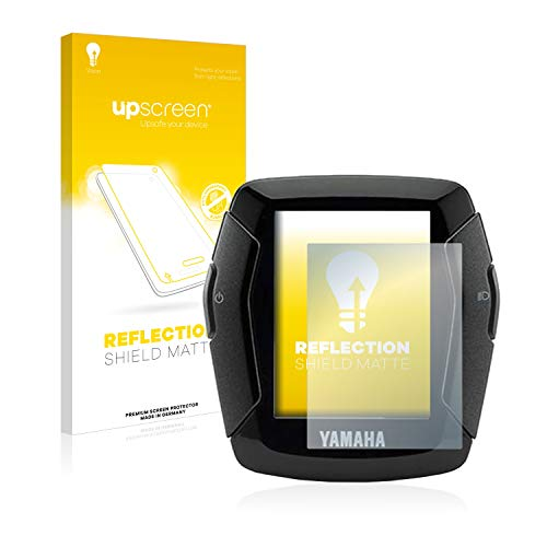 upscreen Entspiegelungs-Schutzfolie kompatibel mit Yamaha LCD-C Display 2019 (E-Bike Display) - Anti-Reflex Displayschutz-Folie Matt