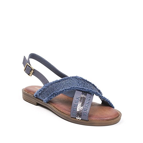 Ideal Shoes ,  Sandali donna Blu