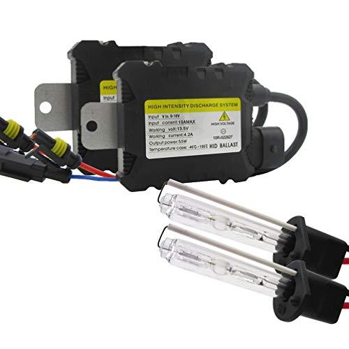 55W VERSTECKTE Xenon-Scheinwerfer-Umwandlungs-KIT-Birnen H1 H3 H4 H7 H11 9005 9006 880/881 (Style : 9005/HB3/H10, Wattage : 3000K)