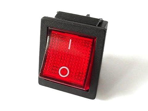 Rocker Switch Toggle Switch 250V 15A 125V 20A AC CQC KCD4 illuminated rectangular wide model: SCH45