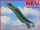 Wellenrutsche Kunststoff 2,90m GRÜN