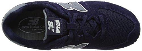 New Balance Kl574cwg M, Sneakers Basses Mixte Enfant Bleu (Navy)