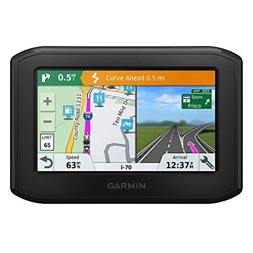 Garmin zūmo 396 LMT-S EU Motorrad-Navigationsgerät - Europa Karte, lebenslange Kartenupdates, Routingfunktionen, Sicherheitshinweise, 4,3 Zoll (10,9cm) Touchdisplay Garmin 10 X Bluetooth