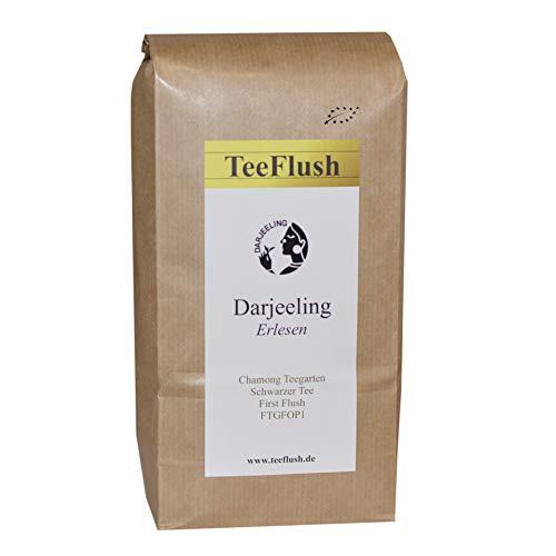 Darjeeling First Flush FTGFOP1, Ernte 2018, 500g, Schwarzer Tee, Bio, Geschmack blumig-zart, Chamong Gruppe-Phoobsering Teegarten