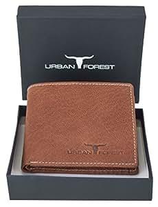 Urban Forest Philip Redwood Men's Leather Wallet