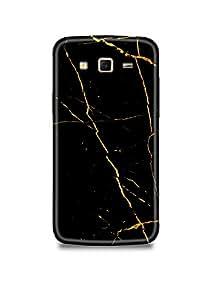 Samsung Grand Prime Cover,Samsung Grand Prime Case,Samsung Grand Prime Back Cover,Black & Gold Marble Samsung Grand Prime Mobile Cover By The Shopmetro-19985