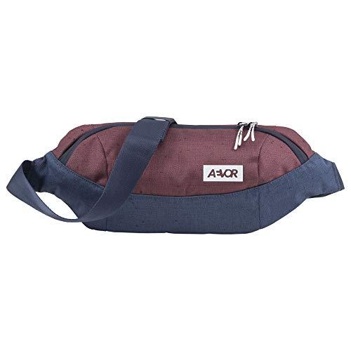 AEVOR Shoulder Bag Bichrome Iris - City Umhängetasche für Essentials im Alltag -