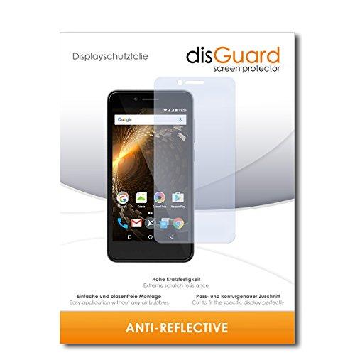 disGuard® Bildschirmschutzfolie [Anti-Reflex] kompatibel mit Allview P6 Energy Mini [3 Stück] Entspiegelnd, Matt, Antireflektierend, Extrem Kratzfest, Anti-Fingerabdruck - Panzerglas Folie, Schutzfolie