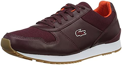 Lacoste L!VE - Sneaker - Homme - rouge (burg/org) - Taille 42.5