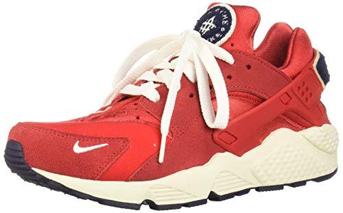 Nike Herren Air Huarache Run Premium Laufschuhe, Mehrfarbig (University Red/Sail/Blackened Blue 602), 42 EU - Sail Red Schuhe