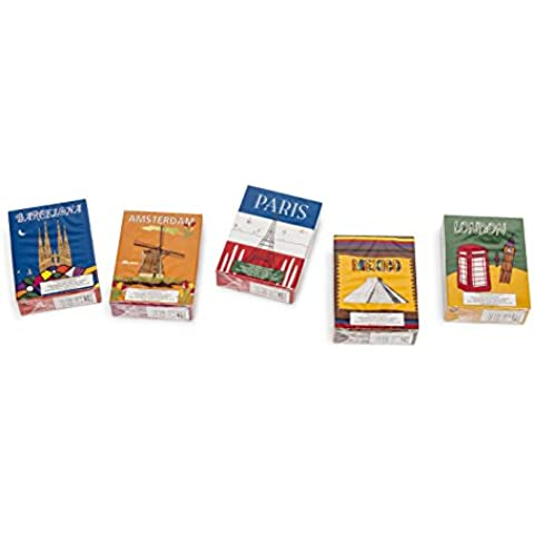 Pack de 5 paquetes de cigarrillos de chocolate