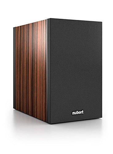 Nubert nuBox 303 Regal-/Dipol-Lautsprecher 2-Wege (12,0 cm Tieftöner, 2x 1,9 cm Hochtöner, 100/130 Watt, 74-27000 Hz), Stück, Ebenholz / Schwarz