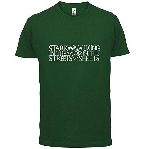 Stark In The Streets - Herren T-Shirt - 13 Farben Flaschengrün