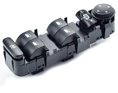 LUCKLYSTAR® 6554.HA Fensterheberschalter Konsole für Citroen C4 2004-2010 6554 HA