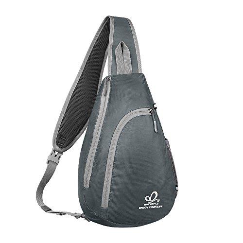 WATERFLY Sling Bag Schulter-Rucksack Tasche Brust-Umhängetasche