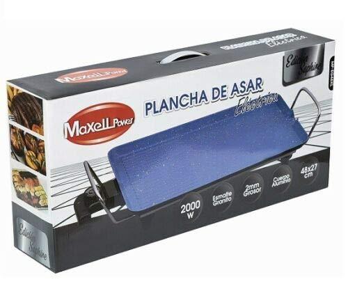 MAXELLPOWER Plancha DE Asar ELECTRICA Granito Azul