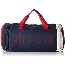 Tommy Hilfiger Packable Duffle, Bolso de Mano para Hombre, 30x30x61 cm (W x H x L)