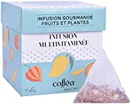 COFFEA - Boite de 15 sachets Infusion Multivitaminée