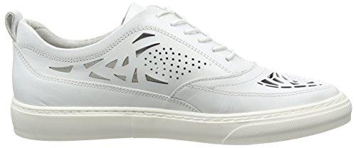 Bronx BmecX Damen Schnürhalbschuhe Weiß (04 White)
