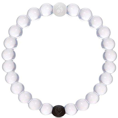 Balance Sport-Armband, Silikon, Gleichgewicht, Entspannung, Bescheidenheit, Hoffnung - Größe M-Weiß - LK Trend & Style