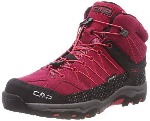 CMP Unisex Rigel Mid Wp Trekking-& Wanderstiefel , Rot (Granita-Corallo 72bm) , 39 EU