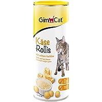 GimCat Käse-Rollis | vitaminreicher Katzensnack mit echtem Hartkäse | ohne Zuckerzusatz | 1 Dose (1 x 425 g)