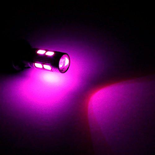 Hunpta Auto LED T10 194 W5W Canbus 10 SMD 5630 5730 Glühbirne (Lila) Glühbirnen 194