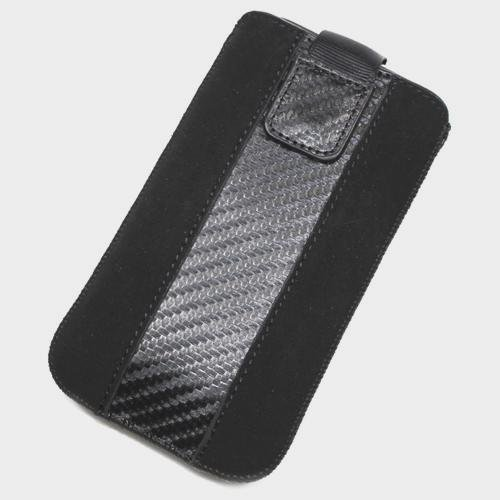 Schutzhülle Tasche Aspekt Nubukleder XL für Samsung i897Captivate