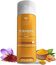 Bombay Shaving Company Turmeric Shaving Foam,266 ml (33% Extra) with Turmeric & Sandal