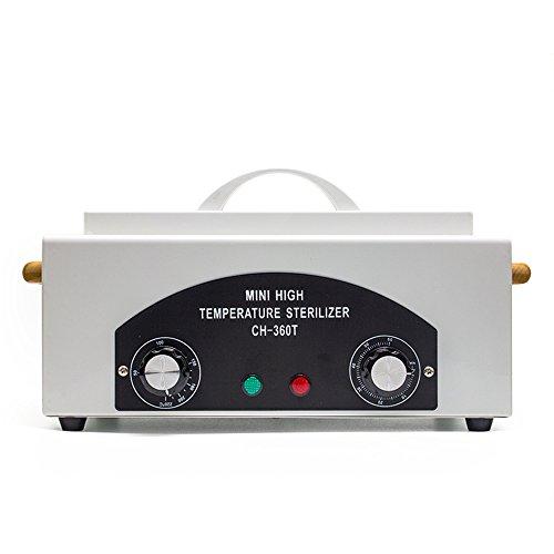 MIMI KING Schönheits-Nagel-Werkzeug-Desinfektions-Kabinett-Pinzette Scissors-Haushalts-Mini-Hochtemperatur-UV-Sterilisator-Weiß (Werkzeug-kabinett-zubehör)