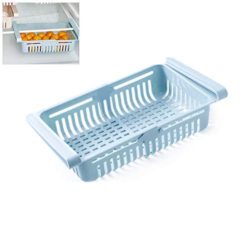 Sarplle Kühlschrank Schubladen, Ablagekorb Schubladenbox Kühlschrank Partition Layer Organizer Regal für Schließfach, Schreibtisch