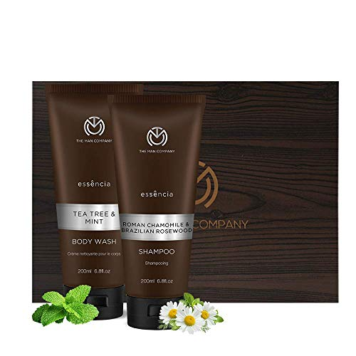 The Man Company Anti Dandruff Shampoo & Tea Tree and Mint Body...