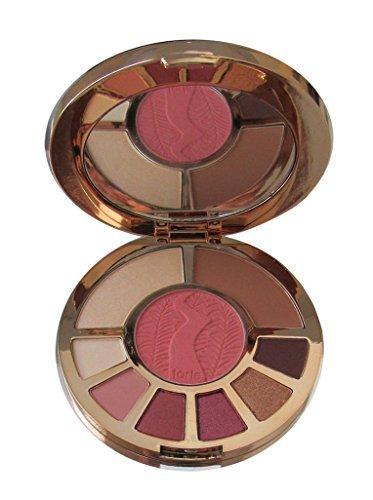 Tarte Ladies Night Clay Palette -highlighter, bronzer, blush +6 eye shadows in mirrored compact (Shadow Palette Blush)