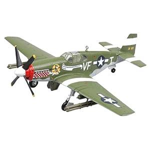 Easy Model 36359 P-51B Capt. D. Gentil - Avioneta a escala con soporte Importado de Alemania