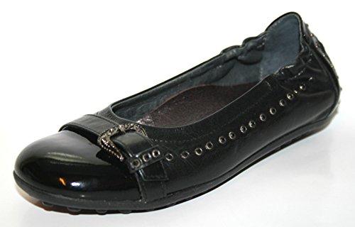 Cherie Kinder Schuhe Mädchen Ballerinas 7.813 (ohne Karton) Schwarz