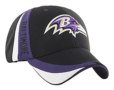 NFL Baltimore Ravens Neutral Zone MVP Adjustable Hat, One Size, Black
