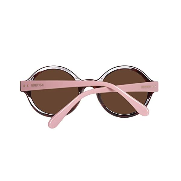 United Colors of Benetton BE985S02 Gafas de sol, Trtois/Pink, 53 para Mujer