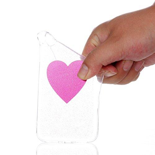 iPhone X Hülle, Voguecase Silikon Schutzhülle / Case / Cover / Hülle / TPU Gel Skin Handyhülle Premium Kratzfest TPU Durchsichtige Schutzhülle für Apple iPhone X(EPOXY-Dreamcatcher 07) + Gratis Univer EPOXY-Die Liebe 08