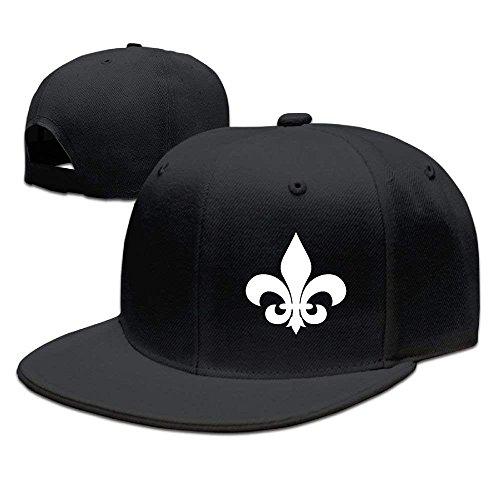 Roman Lin Adjustable Baseball Hat Caps Unisex/Men/Women - Fleur De Lis -