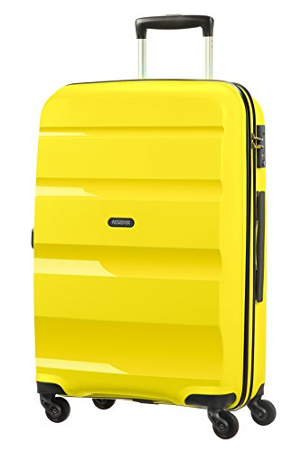 American Tourister Bon Air Spinner M Maleta, 57.5 Litros, Color Amarillo
